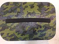 Сидушка туристическая камуфляж на резинке 39х28,5х1,2см