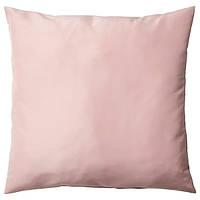 Подушка декоративная розовая 50x50 см IKEA ULLKAKTUS УЛЛЬКАКТУС ИКЕА