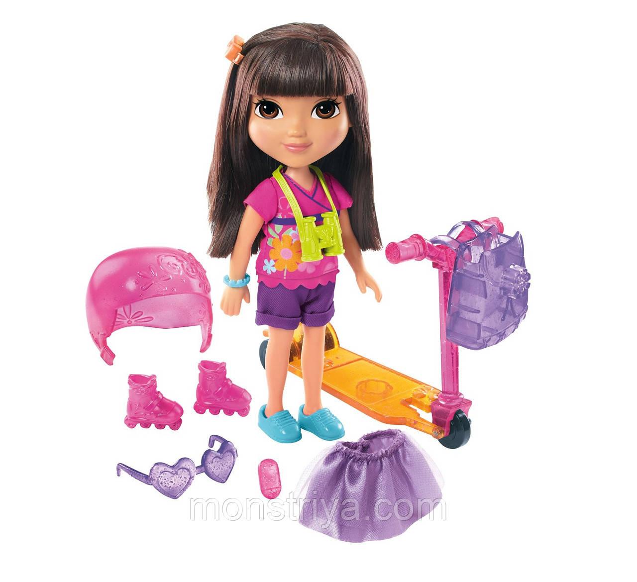 Кукла Даша Следопыт, путешественница Dora