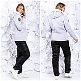 Зимовий жіночий лижний костюм про-во Україна, 3 кольори , розмір 50-52,54-56, фото 4