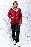 Зимний лыжный женский костюм про-во Украина, 3 цвета , разм 42-44,46-48, 50-52, 54-56, фото 3