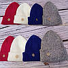 Вязаная шапка-чулок со снежинкой, фото 2