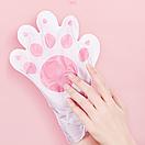 Восстанавливающая маска-перчатки для рук Luofmiss Nicotinamide Goat Milk 35 g (1 пара), фото 2