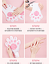 Восстанавливающая маска-перчатки для рук Luofmiss Nicotinamide Goat Milk 35 g (1 пара), фото 6