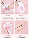 Відновлююча маска-рукавички для рук Luofmiss Nicotinamide Goat Milk 35 g (упаковка 3 штуки), фото 6