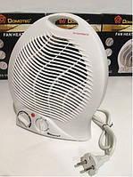Обогреватель электрический тепловентилятор Domotec MS-5902 3 режима работы 2000 W