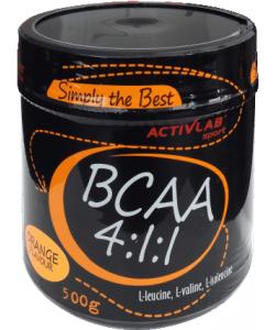Аминокислоты bcaa Activlab BCAA 4:1:1 500 g