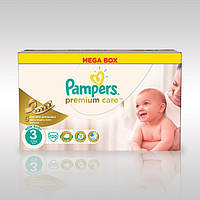 Pampers Premium Care 3 ( 4-9 ) 120 шт!