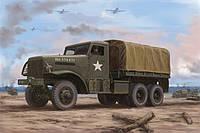 Сборная модель грузовика US White 666 Cargo (Hard Top) 1/35