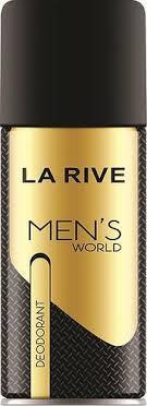 Парфумований дезодорант для чоловіків La Rive men's world 150 мл (5901832065692)
