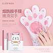 Восстанавливающая маска-перчатки для рук Luofmiss Nicotinamide Goat Milk 35 g (упаковка 3 штуки), фото 4