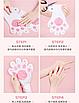 Восстанавливающая маска-перчатки для рук Luofmiss Nicotinamide Goat Milk 35 g (упаковка 3 штуки), фото 6