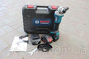 Акумуляторна болгарка Bosch GWX 48V-10C ( 48V, Ø125 мм). УШМ Бош, кутова шліфмашина, турбинка