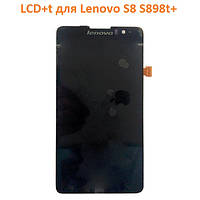LCD модуль для Lenovo S8 S898t+ (Дисплей + сенсор)