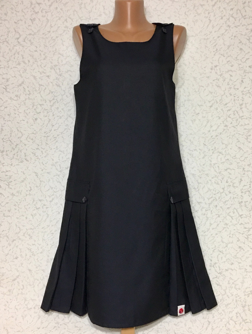Шикарный стильный деловой сарафан платье
