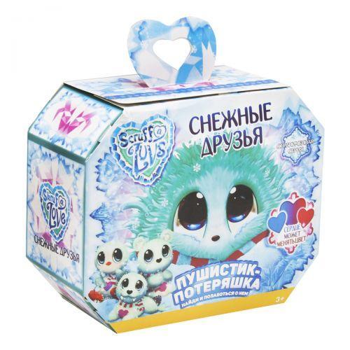 """Мягкая игрушка-сюрприз """"Scruff A Luvs: Снежные друзья"""" MR-001/004"""