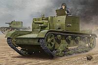 Модель для сборки - Советское самоходное орудие АТ-1 1/35