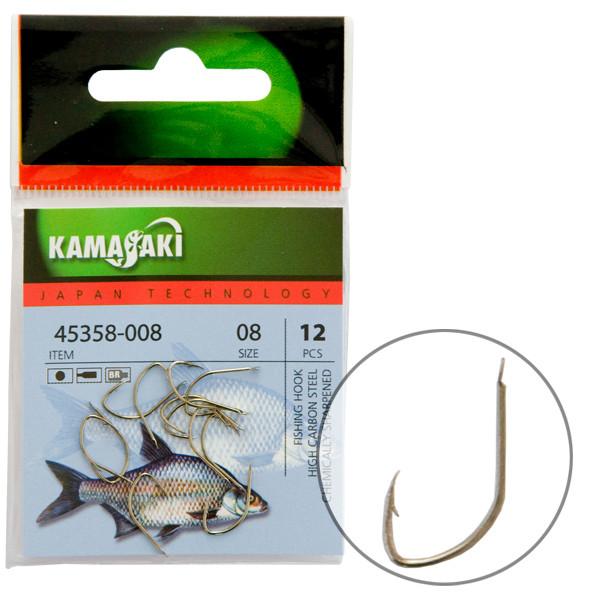Крючок Kamasaki Carbon P890BR NR 08 (12шт)