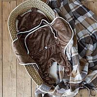 Универсальный махровый спальник, коричневый, 6-12 мес. MagBaby
