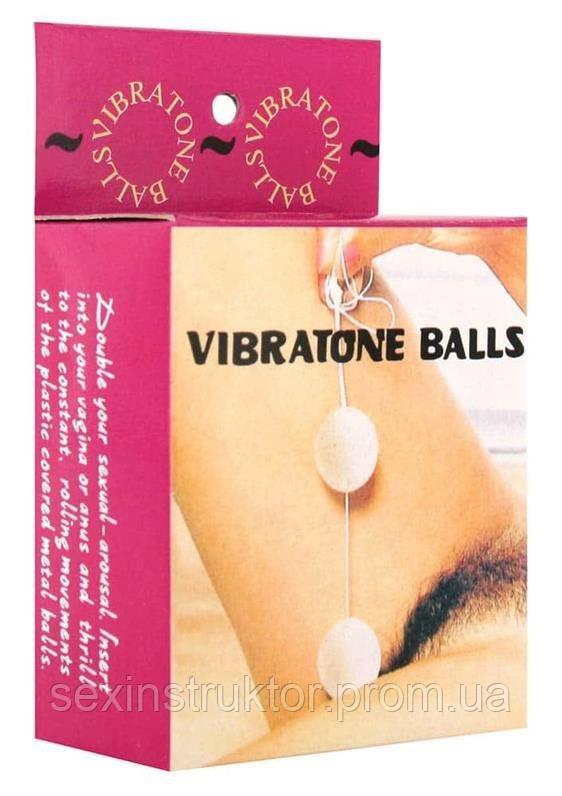 Вагінальні кульки - Plastic Balls, слонова кістка