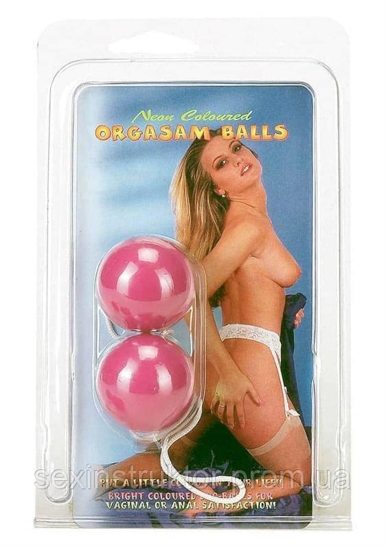 Вагинальные шарики - Orgasm Ball, фиолетовый