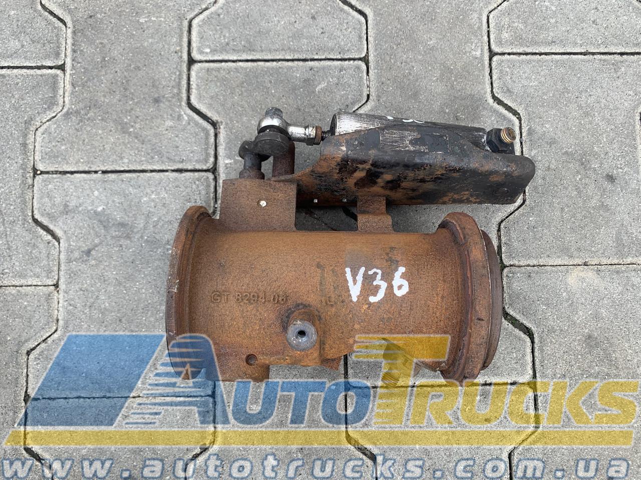 Заслонка горного тормоза Б/у для VOLVO FE (22795371)