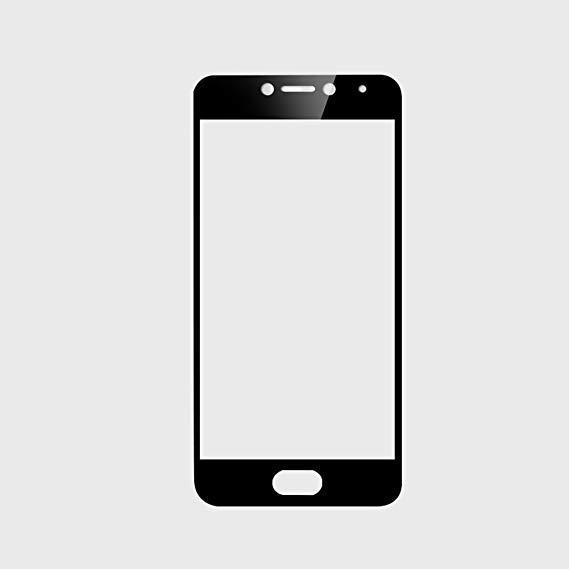 Защитное стекло 2.5D Silk Screen для Meizu M5 Black (MB_723328229)