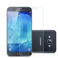 Защитное стекло Glass 2.5D для Samsung Galaxy A8 2015 (81906)