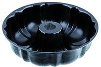 """Форма антипригарная круглая с тефлоновым покрытием """"Кекс с втулкой""""Ø 250 мм;H 85 мм (шт)"""