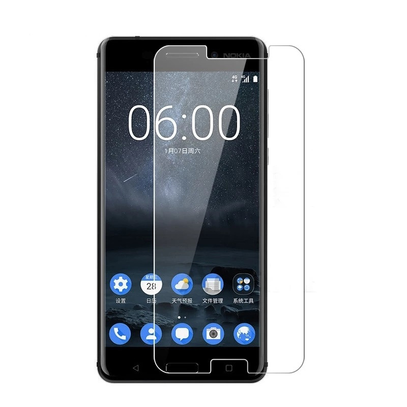 Защитное стекло Glass 2.5D для Nokia 6 (01714)