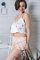 Пижама молодежная с топиком П1-00 Сердце