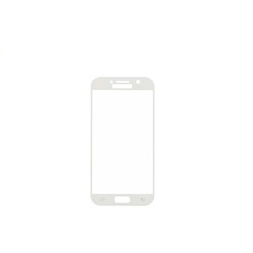 Защитное стекло Glass 2.5D Full Glue для Samsung A520 Galaxy A5 2017 White (AF-000206)