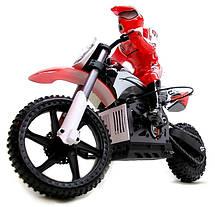 Мотоцикл 1:4 Himoto Burstout MX400 Brushed, фото 2