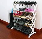 Полка стойка органайзер для обуви 5 полок 15 пар Shoe Rac Amazin, фото 7