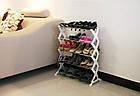 Полка стойка органайзер для обуви 5 полок 15 пар Shoe Rac Amazin, фото 8
