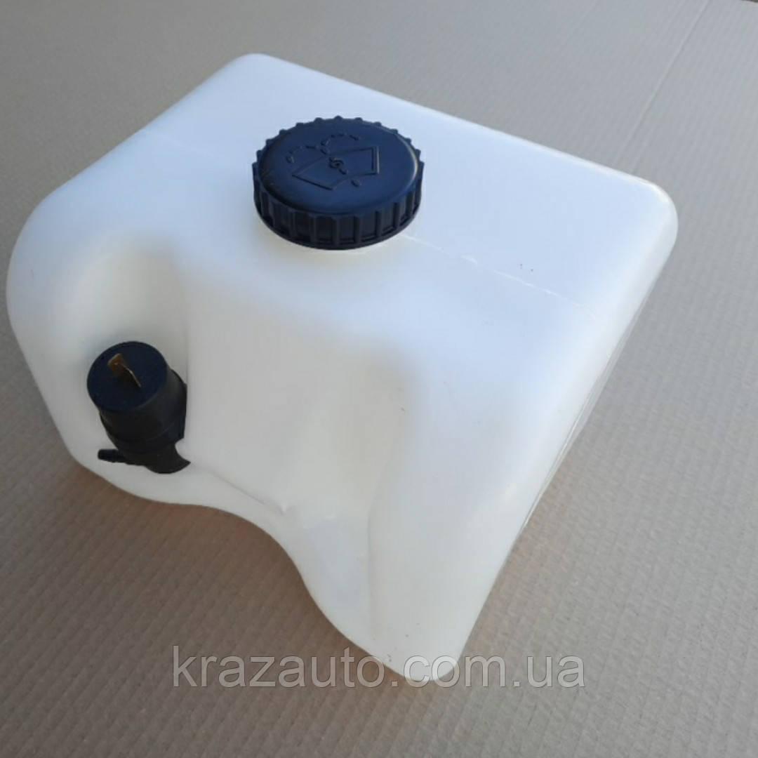 Бачок омывателя КАМАЗ ЕВРО 5,4л с насосом ТК-02-5208211