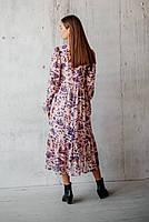 Романтическое женское платье длиной миди, фото 4