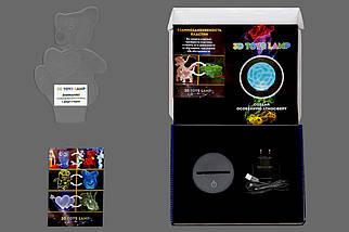 """3D світильник """"Гітара 3"""" 3DTOYSLAMP, фото 3"""