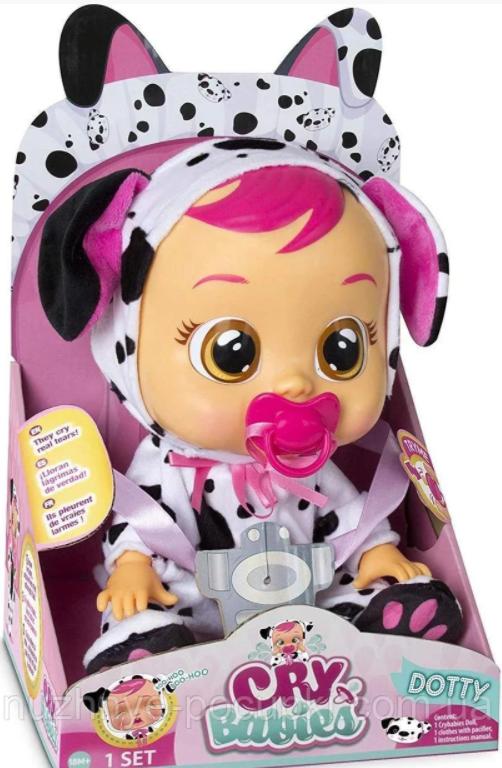 Интерактивная кукла пупс Плачущий младенец Плакса Дотти Cry Babies Dotty 29см