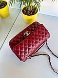 Женский клатч в стиле Коко бордовый СШ26, фото 2