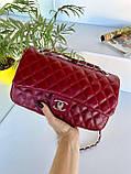 Женский клатч в стиле Коко бордовый СШ26, фото 5