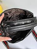 Женская сумка Queens на два отделения черная ВК687, фото 4