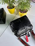 Женская сумка Queens на два отделения черная ВК687, фото 9