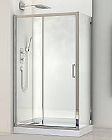 Душова кабіна прямокутна 100х80 SANTEH без піддону