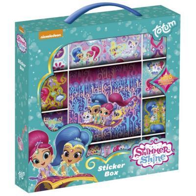 Купить Товары для детского творчества, Набор для творчества TOTUM Шиммер и Шайн. Коробка 1000 стикеров (850118)