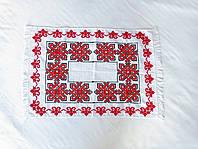 Салфетка украинская 64*42, салфетка свадебная, ручная вышивка крестиком