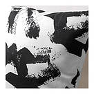 ИКЕА (IKEA) TURILL, 903.858.52, Подушка, белый/черный, 40x40 см - ТОП ПРОДАЖ, фото 2
