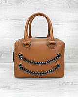 Женская сумка «Jean» рыжая, фото 1