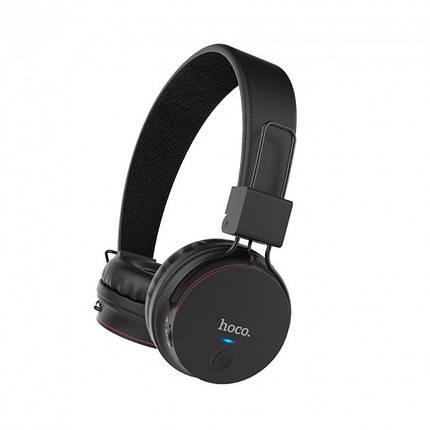 Беспроводные Bluetooth наушники Hoco W19 Easy move Black, фото 2