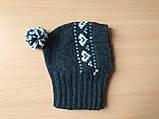 Зимняя шапка для маленькой собаки,шапка для таксы,шапка для собаки до 10 кг, фото 9